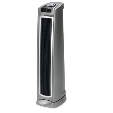 lasko ceramic tower heater lasko 5571 ceramic oscillating tower heater w remote 30790