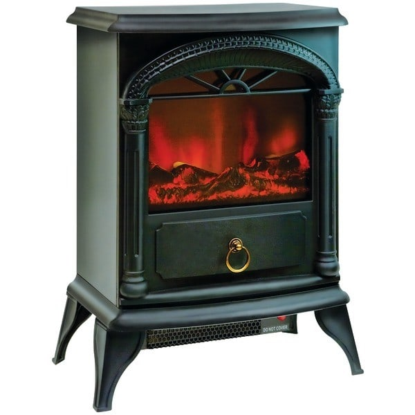 Comfort Zone 174 Czfp4 Portable Electric Fireplace Stove
